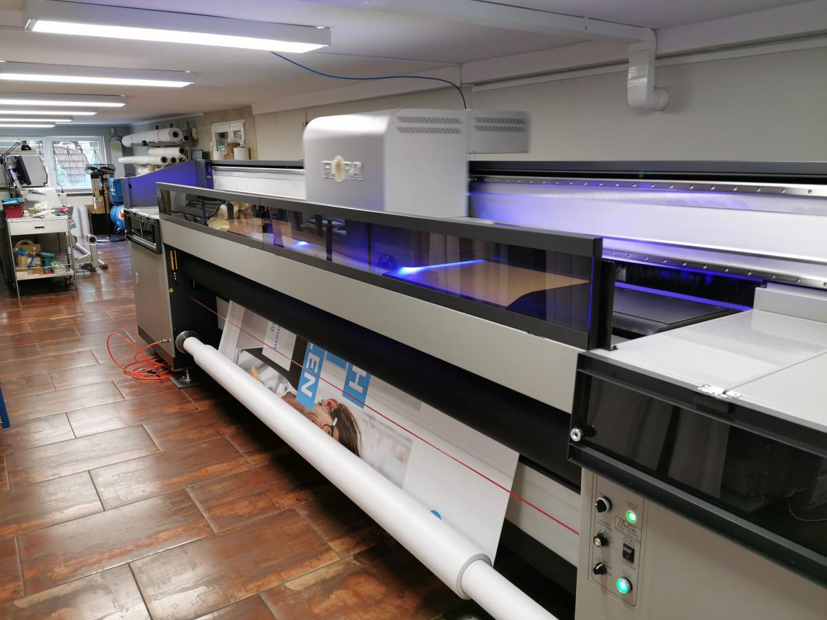 Nowa drukarka cz. 6 - UV Flora